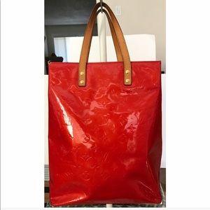💯Authentic Louis Vuitton Vernis Reade MM Tote Bag